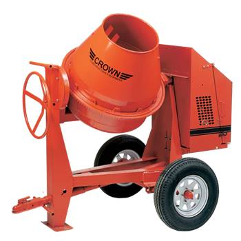 Mixer, 9 Cu Ft - Cement