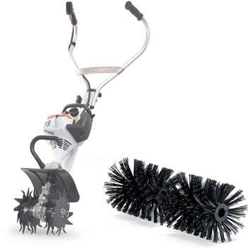 Stihl MM with Bristles