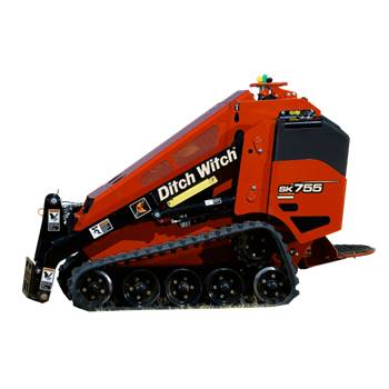 Skid Steer Mini Ditch Witch