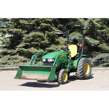 Tractor, Compact MFWD w/Loader